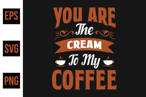 Print on Demand: Coffee Saying Design Vector. Graphic Print Templates By ajgortee