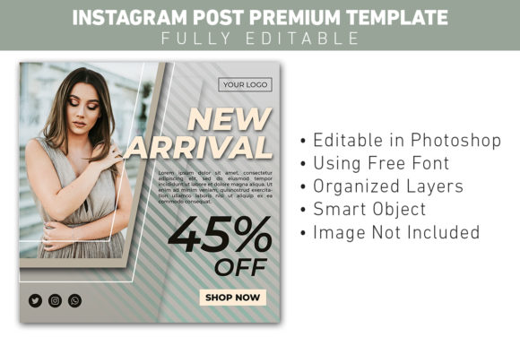 Instagram Post New Arrival Fashion Sale Graphic Graphic Templates By ant project template