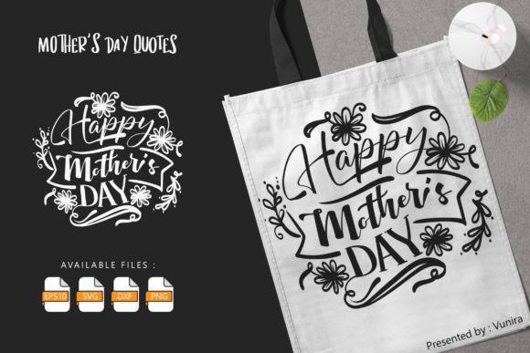10 Mother's Day Bundle | Lettering Quote Graphic Download