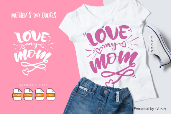 10 Mother's Day Bundle | Lettering Quote Graphic Preview