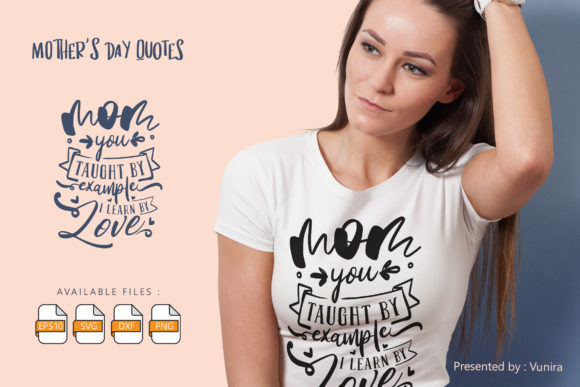 10 Mother's Day Bundle | Lettering Quote Graphic Downloadable Digital File