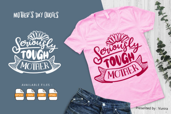 10 Mother's Day Bundle | Lettering Quote Graphic Popular Design