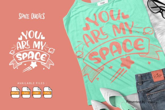 10 Space Bundle | Lettering Quotes Graphic Graphic