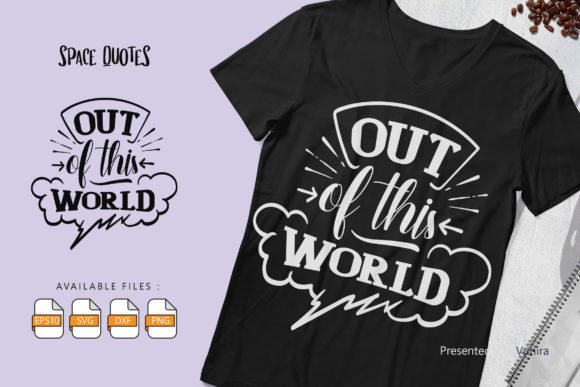 10 Space Bundle | Lettering Quotes Graphic Preview