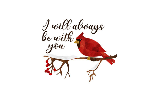 I Will Always Be with You Quotes Craft Cut File By Creative Fabrica Crafts