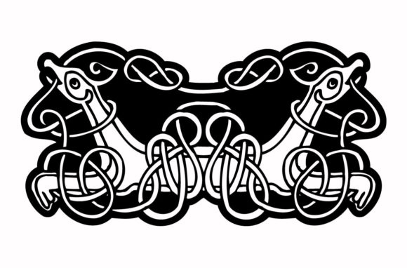 Print on Demand: Celtic Ornament Vintage Graphic Crafts By nisakaart