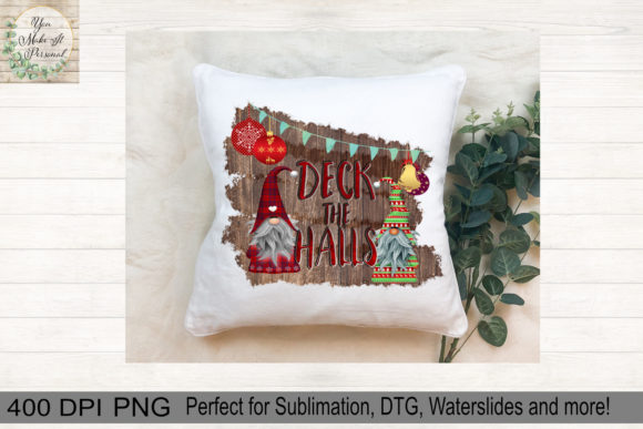 Print on Demand: Christmas Gnomes Graphic Print Templates By You Make It Personal