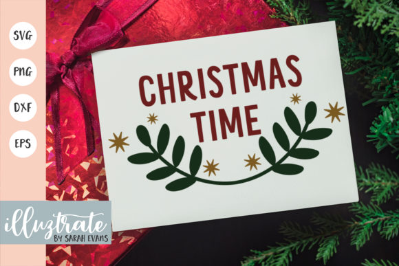 Print on Demand: Christmas Time Graphic Crafts By illuztrate