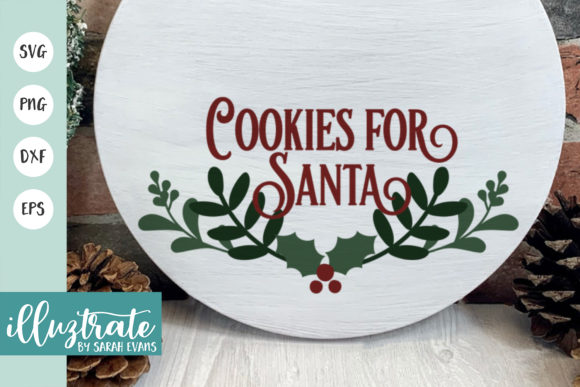 Print on Demand: Cookies for Santa Graphic Crafts By illuztrate