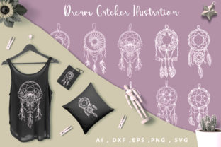 Dreamcatcher Big Bundle Graphic Crafts By AllmoStudio