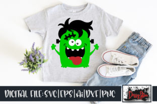 Franken Monster Graphic Illustrations By DrissyStore