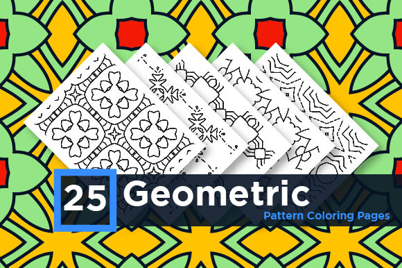 Print on Demand: Geometric Seamless Patten Graphic Coloring Pages & Books Adults By Riduwan Molla