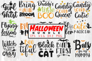 Halloween Quotes Bundle Graphic Crafts By Designvillage