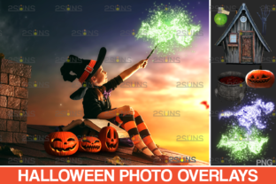 Halloween Overlay, Magic Wand Photoshop Graphic Actions & Presets By 2SUNS