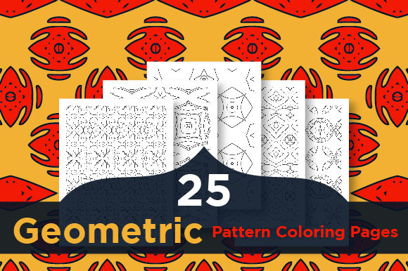 Print on Demand: High Quality Pattern Coloring Pages Graphic Coloring Pages & Books Adults By Riduwan Molla