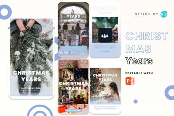 Instagram Stories Template - Christmas Graphic Presentation Templates By 57creative