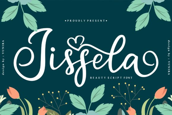 Print on Demand: Jissela Script & Handwritten Font By Vunira
