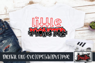 Little Monster Graphic Illustrations By DrissyStore