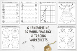 Merry Christmas Coloring Games Graphic Teaching Materials By lexiclaus 8
