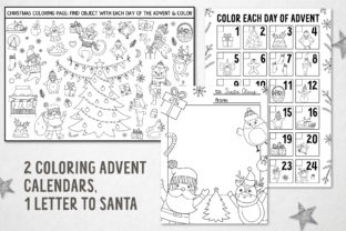 Merry Christmas Coloring Games Graphic Teaching Materials By lexiclaus 9