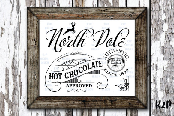 Print on Demand: North Pole Waterslide ,Hot Chocolate SVG Graphic Crafts By KtwoP
