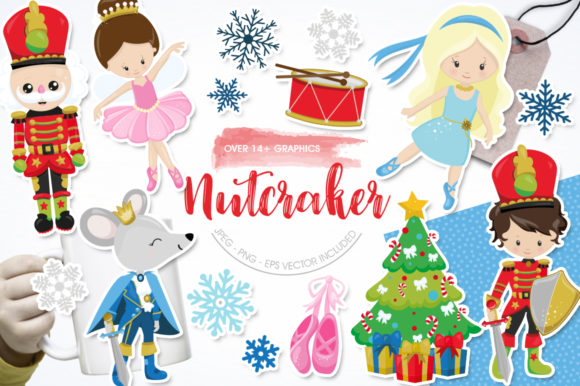 Print on Demand: Nutcracker Graphic Illustrations By Prettygrafik