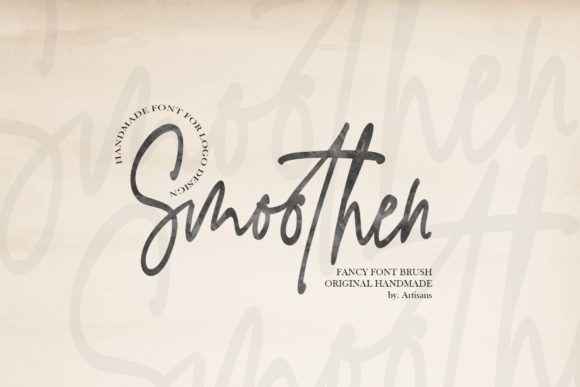 Print on Demand: Smoothen Script & Handwritten Font By Artisans