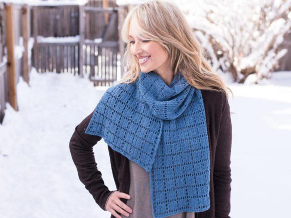 Square Squared Crochet Scarf Pattern Graphic Crochet Patterns By Knit and Crochet Ever After