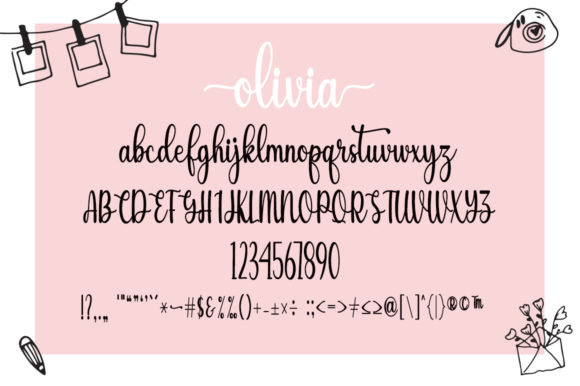 Sunshine Olivia Font Popular Design