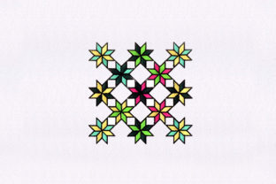 Symmetrical Quilting Bedroom Embroidery Design By DigitEMB