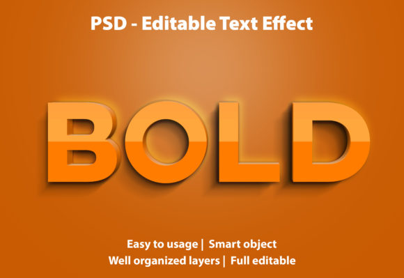 Text Effect Bold Premium Graphic Graphic Templates By yosiduck
