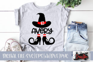 Witch Hat and Legs Graphic Illustrations By DrissyStore