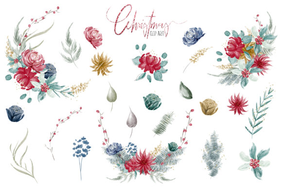 Woodland Christmas Illustrations Graphic Preview