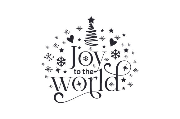 Joy to the World Cut File Download