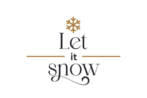 Let It Snow Cut File