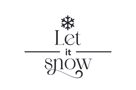 Let It Snow Cut File Download