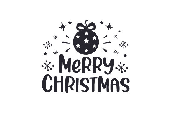 Merry Christmas Cut File Download