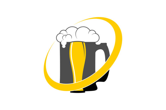Beer Logo Graphic Logos By SkyAce Graphic