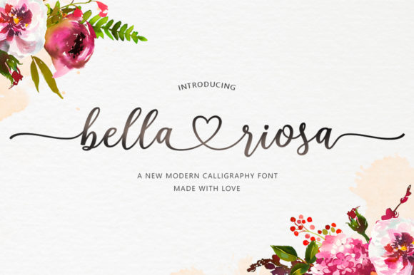 Print on Demand: Bella Riosa Script & Handwritten Font By Attract Studio