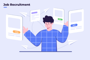 Choice and Analyzing Employee Applicant Graphic Illustrations By Delook Creative