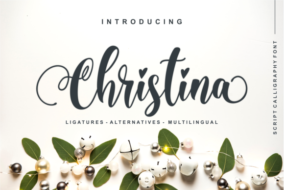Print on Demand: Christina Script & Handwritten Font By Nun Creatype