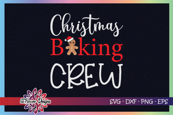 Christmas Baking Crew Funny Xmas Cookies Graphic Print Templates By ssflower