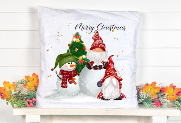 Christmas Gnomes Cute Snow Sublimation Graphic Item