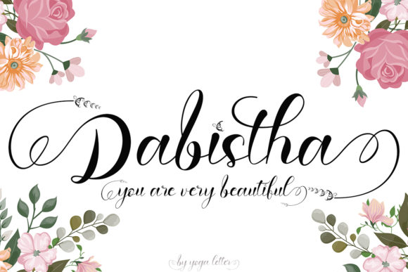 Print on Demand: Dabistha Script & Handwritten Font By yogaletter6