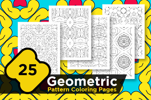 Print on Demand: Digital Abstract Pattern Pages Graphic Coloring Pages & Books Adults By Riduwan Molla