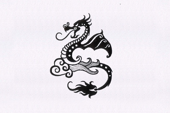 Dragon Dinosaurs Embroidery Design By DigitEMB