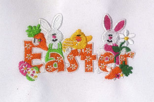 Easter Bunny Easter Embroidery Design By DigitEMB