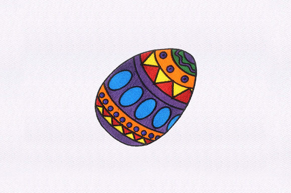 Easter Egg Easter Embroidery Design By DigitEMB