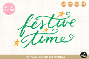 Festive Time Hand Drawn Graphic Crafts By MerryDay