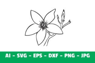 Print on Demand: Flower Clipart Graphic Crafts By Girinesia